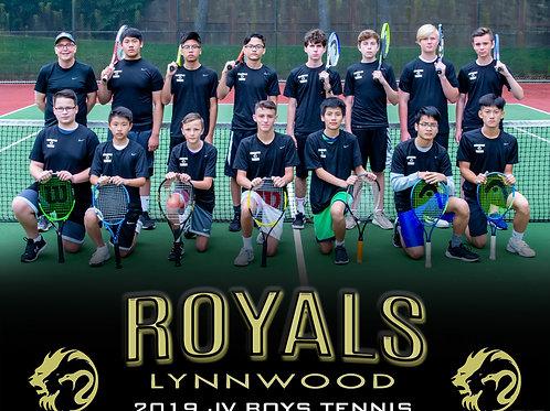 2019 Lynnwood Boys Tennis - JV