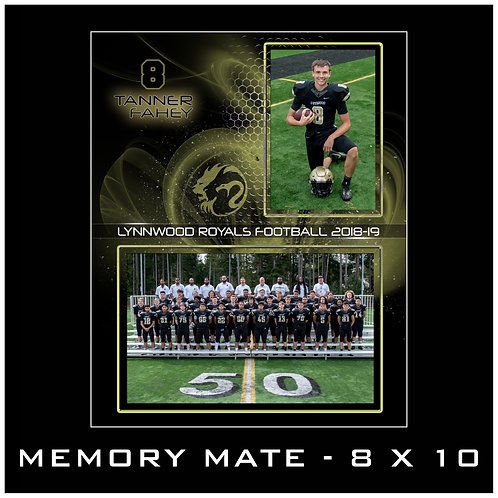 MEMORY MATE - 8X10 - WITHOUT PACKAGE