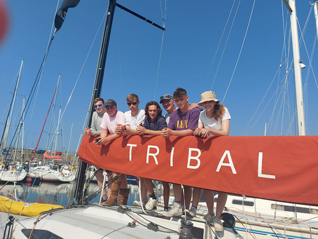 Tribal Youth team success covered by Afloat