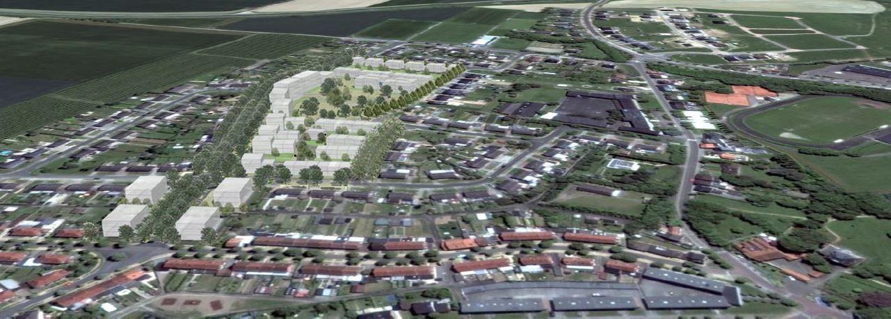 3D luchtfoto