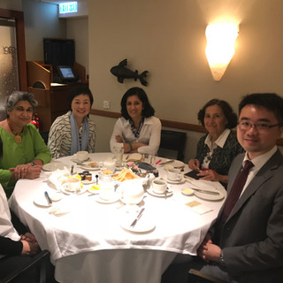 Breakfast with Christine Choi, Under Secretary for Education & Jeff Sze, Political Assistant to Secretary for Education (28/11/17)