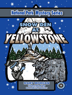 Snow Den at Yellowstone