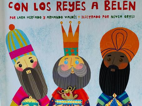 Bilingüe Book Buddy: Un Coquí de Borinquén Con los Reyes a Belén