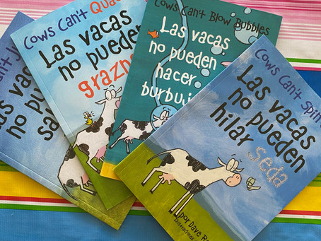 Bilingüe Book Buddy: Cows Can't