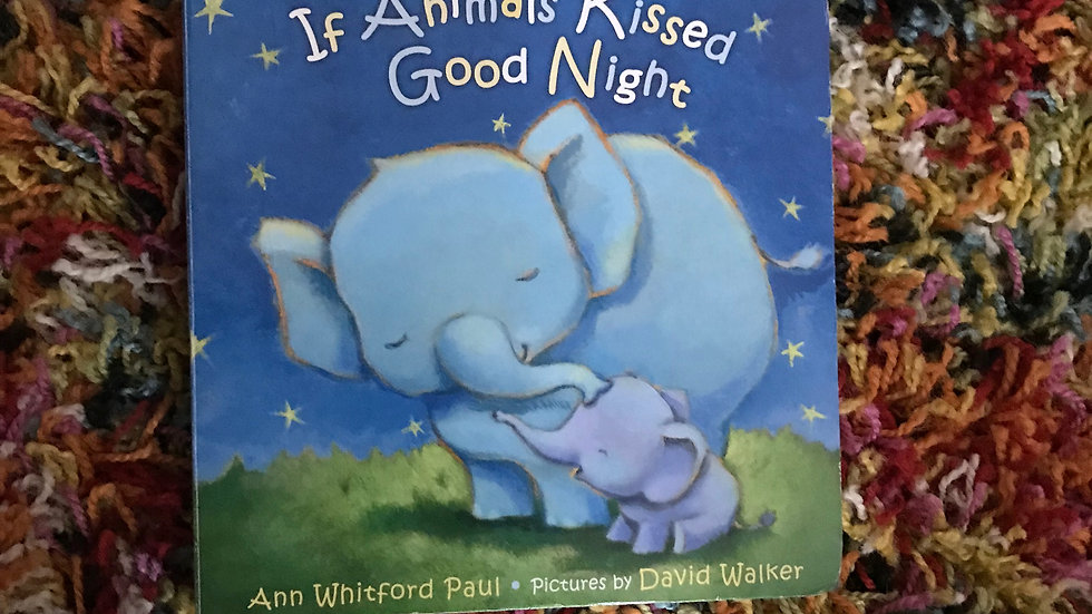 Translation Labels: If Animals Kissed Good Night by A. Paul