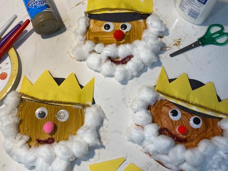Día de Reyes: Plate Masks