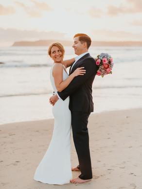 Tanya & Brian Coronado Elopement