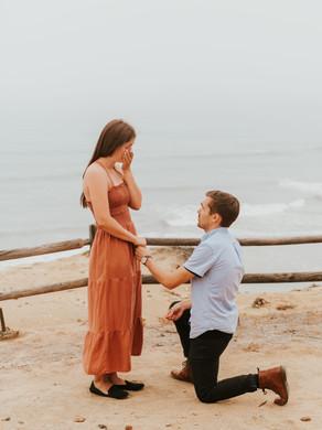 Torrey Pines Surprise Proposal