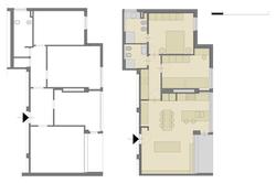Planimetria appartamento CR