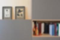 progetto di interni dello studio di architettura VERT   disegno di arredo su misura