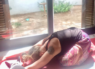 How to beat the overwhelm with yoga