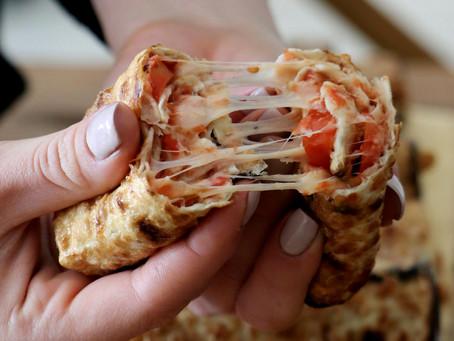פיצה פסח מגולגלת