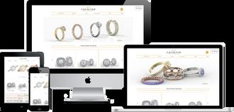 CAVALYER - עיצוב תכשיטי יהלומים
