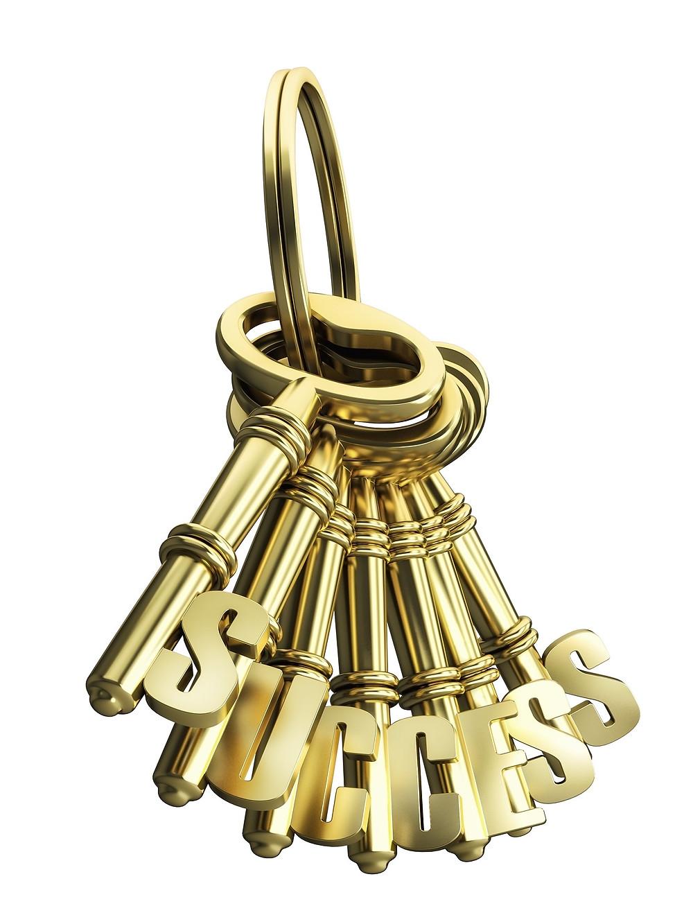 צרור מפתחות מזהב
