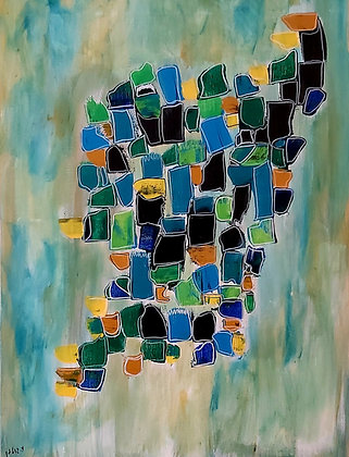 ציור בסגנון קוביזם