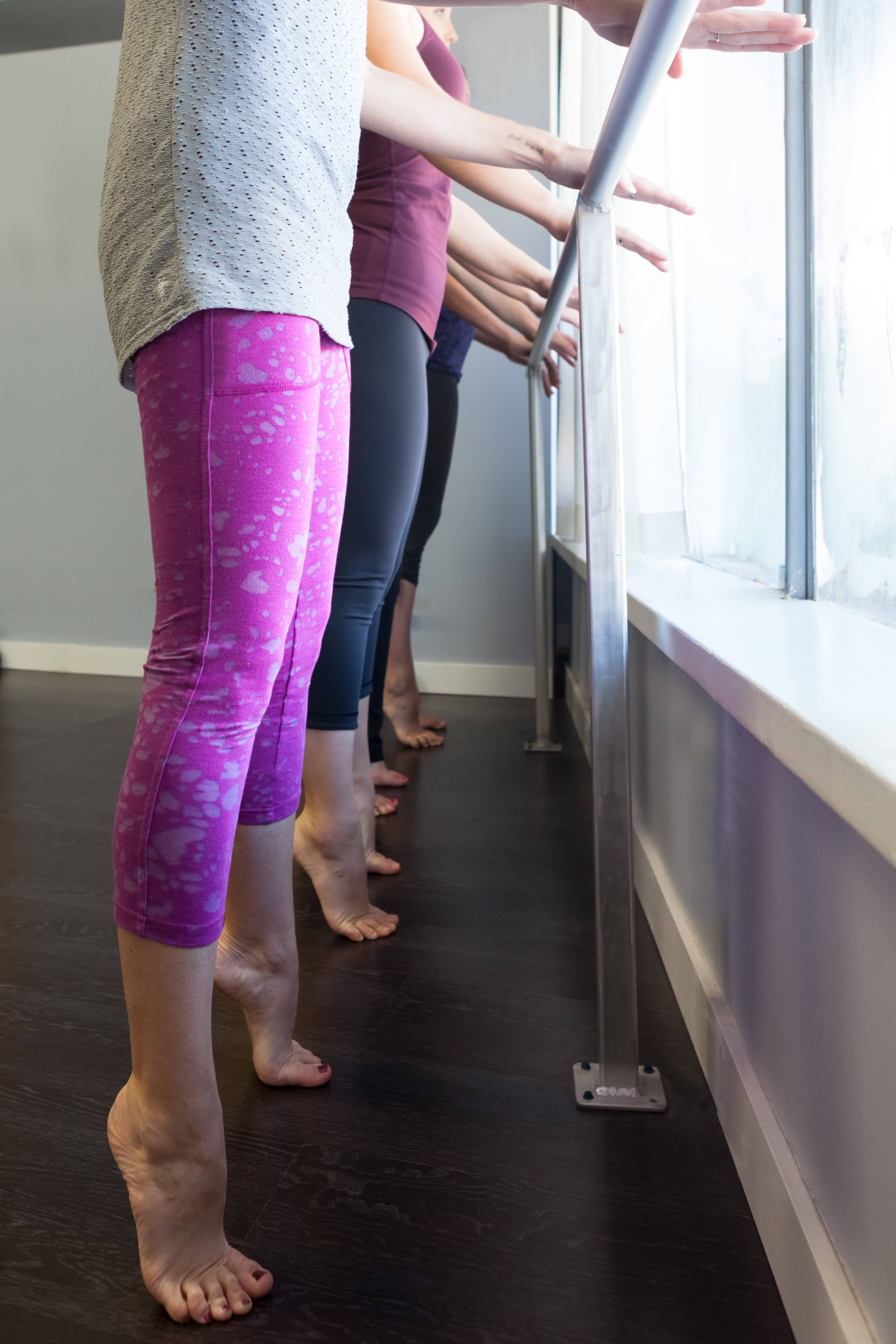 Ballet Barre Workout Thursdays, 8:15
