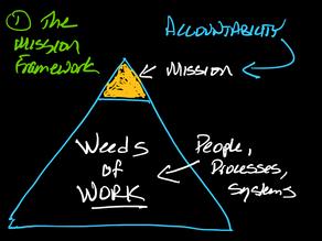 The mission framework