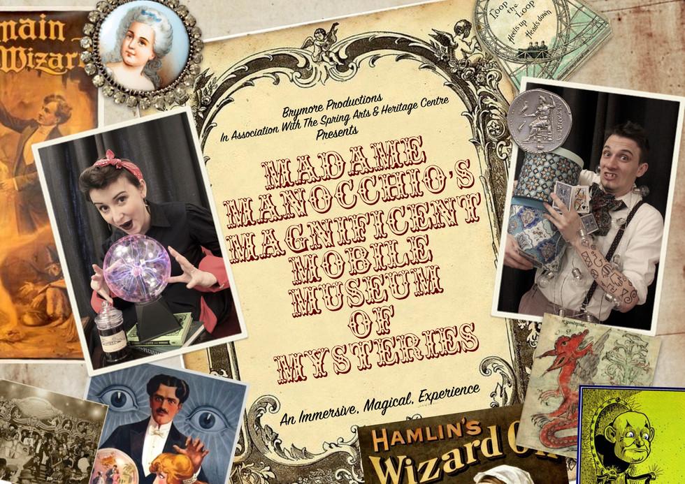 Madame Manocchio Poster