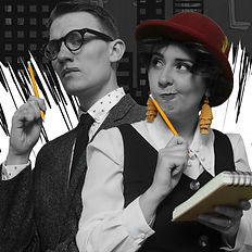 Brymore Productions presents Sean Bryan and Hollie Bryan in The Bureau Of Untold Stories
