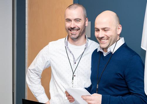 Steve Légaré-Vallée et Mathieu Roussel.