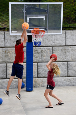 BASKETBALL WITH RED GROUP