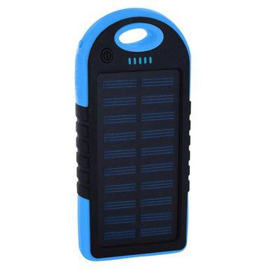 Xlayer Powerbank PLUS Solar Black/Blue 4000mAh
