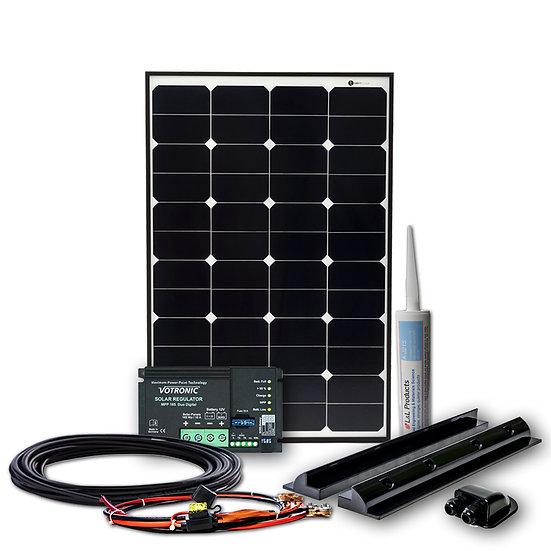 80Wp WATTSTUNDE® DAYLIGHT Sunpower Wohnmobil Solaranlage DLS80