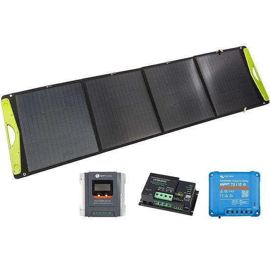 WATTSTUNDE® 200W SolarBuddy Solartasche WS200SB direkt mit USB Anschluss