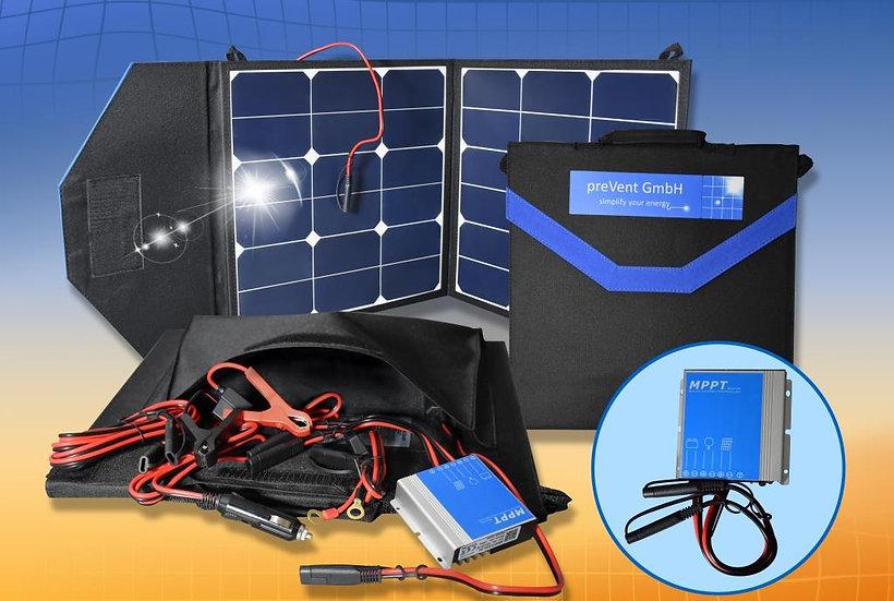 Solarpanel Camping - Solartasche | SOLARANKER® | TOP - solaranker.com 50 Watt