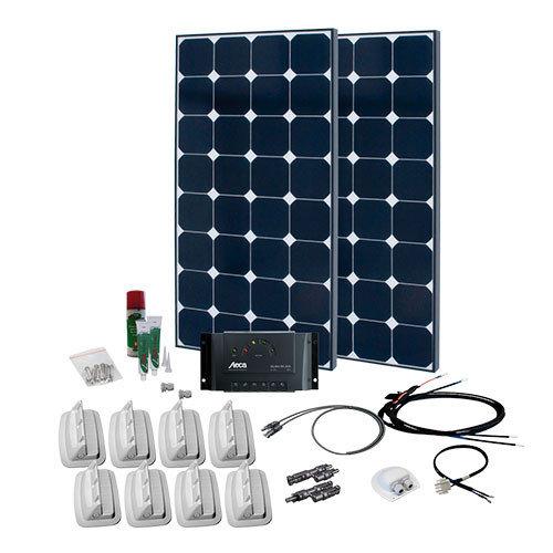 SPR Caravan Kit Solar Peak Three 6.0 220 W