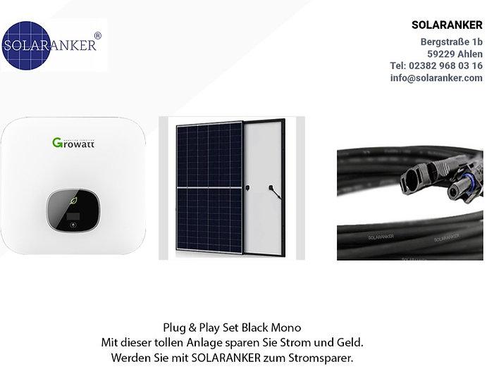 2380 Watt Solaranlage mit Solar Fabrik Solarmodule und Growatt MIN 2500 XE Wifi
