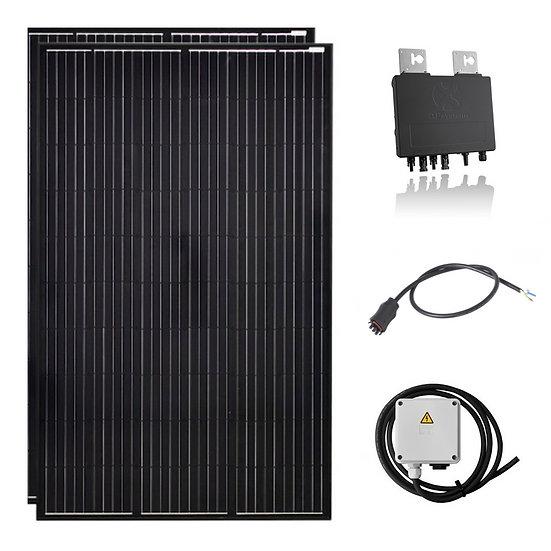 600 Watt Solaranlage Balkonanlage mit AP System Wechselrichter