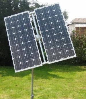 Sun Tracker Garten 200 Watt - Nachführungssystem SunTracer OG+ 2m²