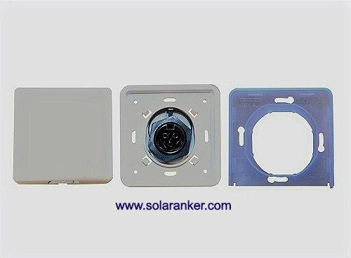 Neue Wielandsteckdose Plug and Play Einspeisesteckdose für Mini-Solaranlagen