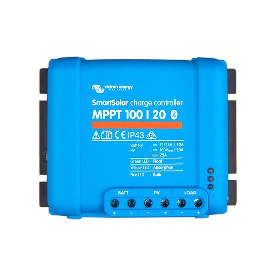Victron SmartSolar MPPT 100/20 Bluetooth integriert