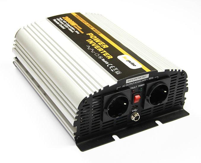 Spannungswandler MS 12V 2000/4000 Watt