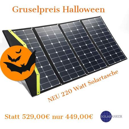 Halloween! Gruselpreise von SOLARANKER