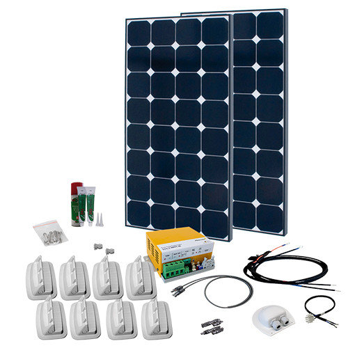 SPR Caravan Kit Solar Peak Nine 1.0 220 W | MPPT