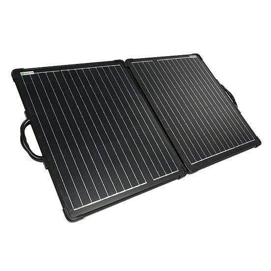 WATTSTUNDE® 100W Solarkoffer ULTRA LIGHT WS100SUL MPPT