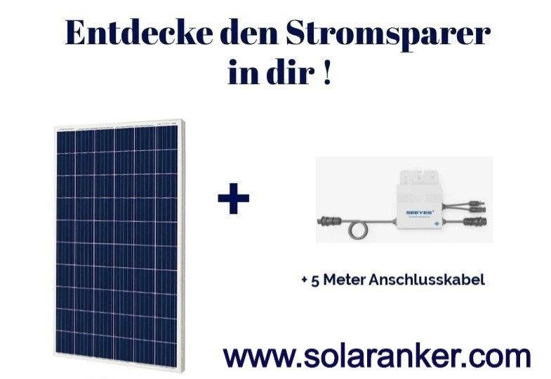 Neue Balkonanlage Solar Plugin Play 560 Watt für den Balkon