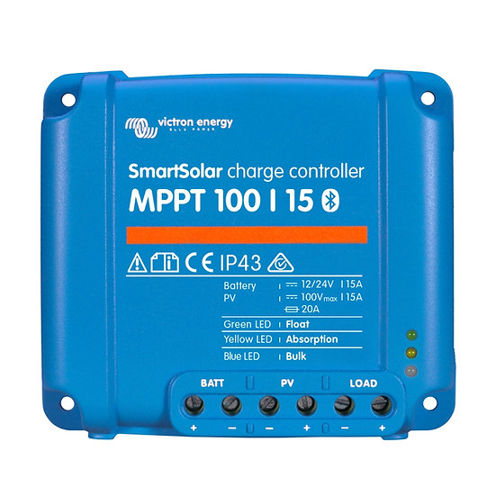Victron SmartSolar MPPT 100/15 Bluetooth integriert
