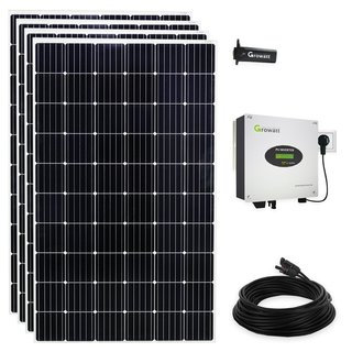 1260 Watt Plug & Play Mini- Solaranlage mit WiFi Stick zum Stromsparen
