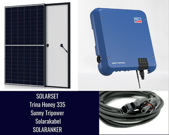 10050 Watt Solaranlage Photovoltaik mit SMA Tripower