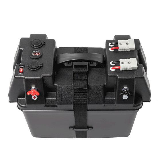 Solarbox Wattstunde Batteriebox BAX110 bis zu 120 Ah Solarakku