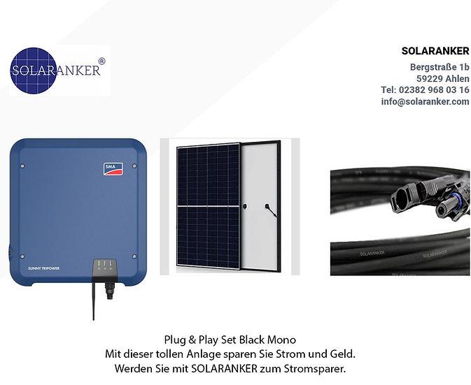 8500 Watt Solaranlage Photovoltaik mit SMA Tripower 10.0