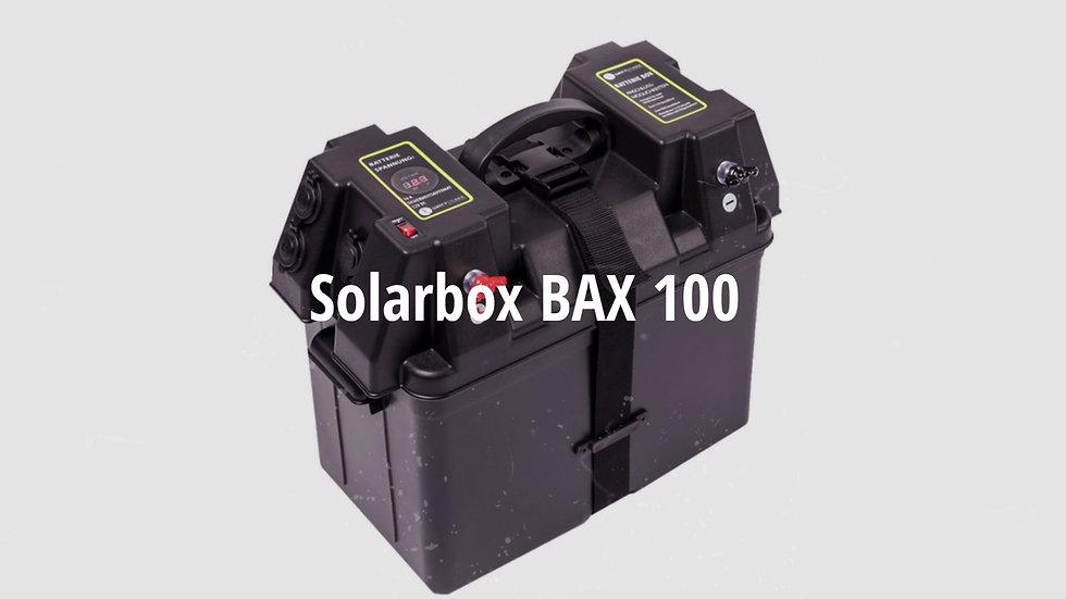 SOLARBOX von WATTSTUNDE® Akku Batteriebox BAX100