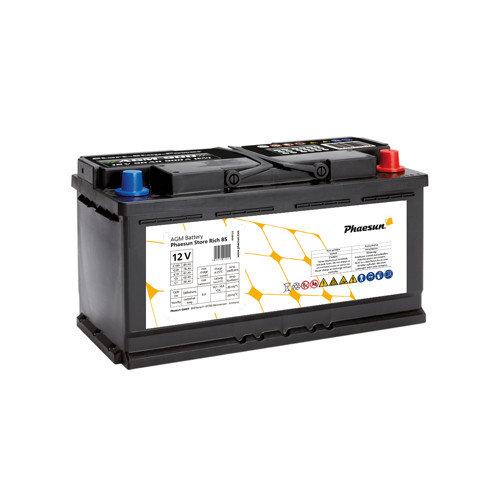 Batterie AGM Phaesun Store Rich 85