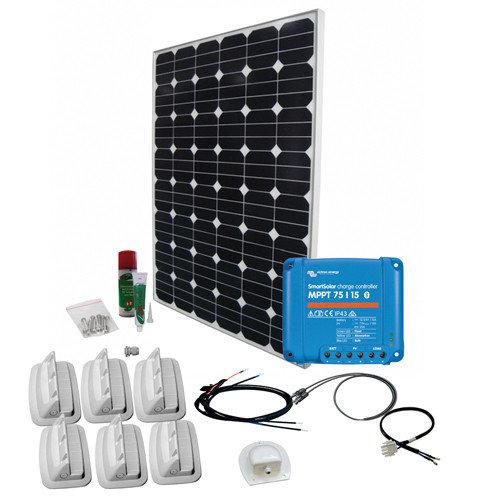 SPR Caravan Kit Solar Peak Eleven 160 W | MPPT