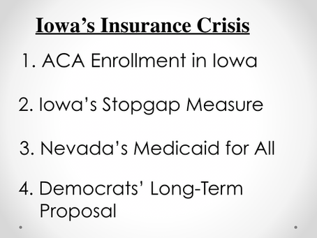 Iowa's Insurance Crisis