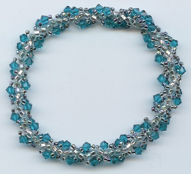 Crystal Spiral - aqua